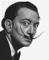Salvador Dali by AshleyCharlene