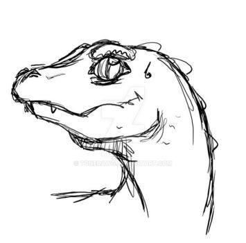 Dino Doodle by ToneDawg