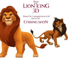 The Lion king 3D ''Fan-made'' by Jabari123