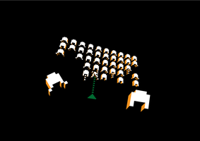 Space Invaders by chinga