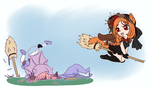 Some witches just can't fly by SapphireSeahorse