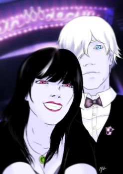 But first, let me take a selfie! - Death Parade - by M2Art93