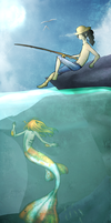 Saltwater room by Tangyowl