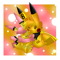 CTP:gold and pink by Pikachim-Michi