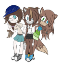 Ellen, Gosia and Leslie - 3 sides of me by LeslieElena19