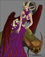 Demoness Colored by Dystopia3000