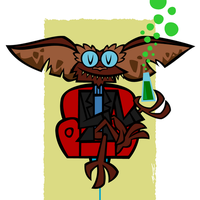 Brain Gremlin by Cool-Hand-Mike