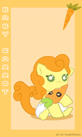 Baby carrot by doublerainbowfilly
