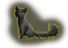 Yellowpaw .:Warriors:. by liracal