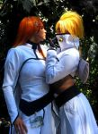 Halibel x Orihime by Satsuma-Lights