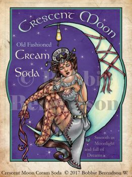 Crescent Moon Cream Soda by BobbieBerendson