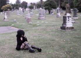 cemetery slut 02 by bloodstainnightmare