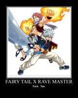 Fairy Tail X Rave Master by Onikage108