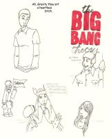More Big Bang Theory by Merlinsbeard