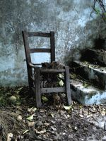 Old chair by erene