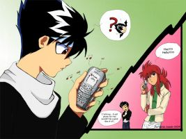 The Cell Phone... by fer-nanda-ssk