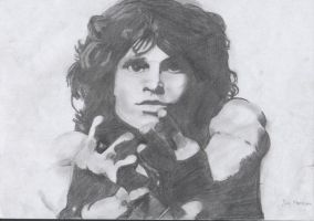 jim morrison by the0cure