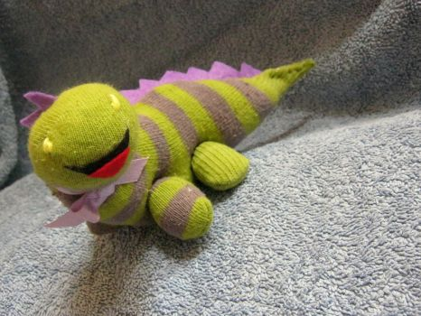 MM - Dinosaur sock keepsake by neko-crafts