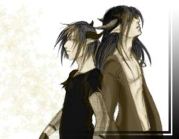 Rayd and Grieve by Arivina
