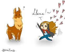 Llamas are awesome ouo by palemiracle