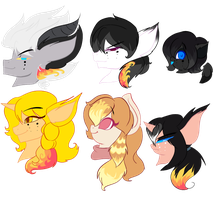 Mlp style: the Zeghter family children by karsisMF97