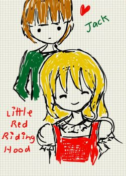 Jack X Little Red Riding Hood by LoveGummyBears