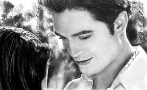 Robert Pattinson in Breaking Dawn II by CezLeo