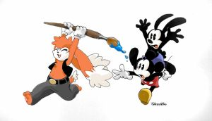 Special Review: Epic Mickey by Zenox-furry-man