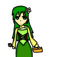 Mao Yuina - Daughter of White (Green) by CutiePie32510