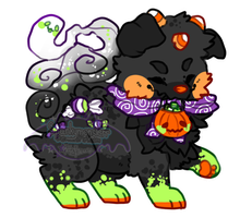Halloween Candy Reff (art by witchpaws) by spankymonsterr