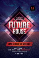 Future House Flyer by styleWish
