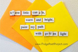 The Daily Magnet #239 by FridgePoetProject