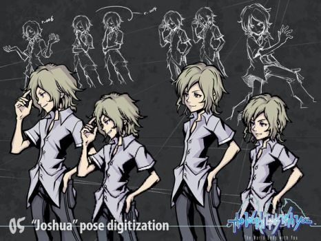'Joshua' Pose digitization by wewy