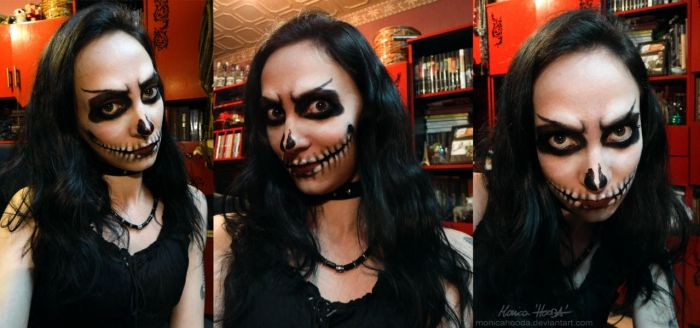 Halloween makeup by MonicaHooda