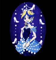 Dark Blue - Cinderella by CharmingNightmare