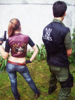 The Redfield Cosplay by luxieneko