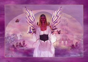 The Butterfly Fairy by zoozee