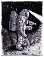 Astronaut Bruce Baxter 2 by Timeship