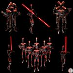 Dark Battle Droid - Total - 2 by mech7