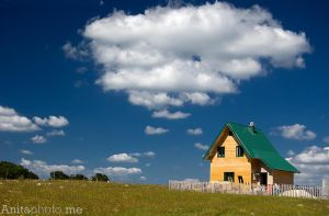 House on Durmitor by Grofica