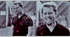 James Hetfield - signature by ladykuolema
