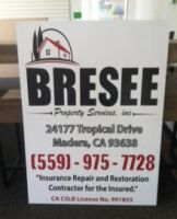 Bresee Property Services Sign I created. by Hannele-Kahkonen