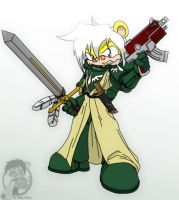Dante of the Dark Angels by Sandwich-Anomaly