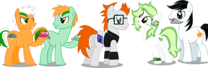 Quicksilvers Family by Vector-Brony