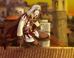 Ezio by BloodSttar