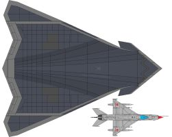 MB-15 Unmanned Stealth Bomber by VoughtVindicator
