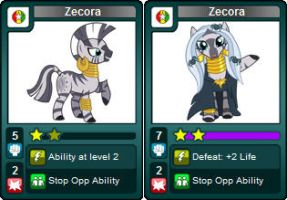 My Little Rivals: Urban is Magic. Zecora by LhasaApso