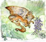 Wisteria Gryphon by Nambroth