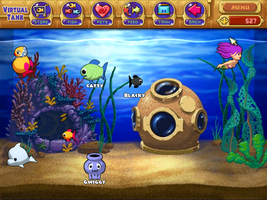 My Insaniquarium Virtual Tank xD by EvilFlippy13