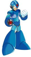 Megaman X  vector style by Itll-fit